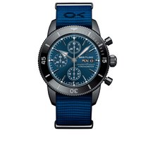 Breitling Superocean Heritage II Chronographe Acero 44mm Azul Sin cifras