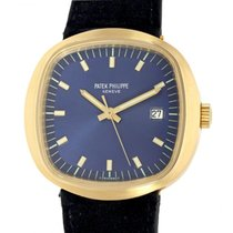 Patek Philippe Beta 21 Yellow gold 43mm Blue No numerals