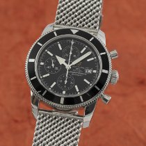Breitling Superocean Heritage Chronograph Acero 46mm Negro