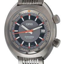 Oris Chronoris Steel 39mm Silver United States of America, Texas, Austin
