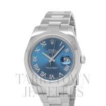 Rolex Datejust II Steel 41mm Blue Roman numerals United States of America, New York, Hartsdale