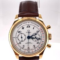 Omega Museum Yellow gold 39mm White Arabic numerals