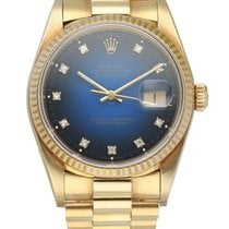 Rolex 16018 Yellow gold Datejust 36mm pre-owned United States of America, New York, New York