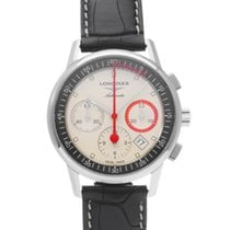 Longines Column-Wheel Chronograph Stål 41mm