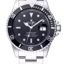 Rolex Submariner Date použité 40mm Černá Datum Ocel