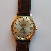 Omega 14393 Gold/Steel Constellation 34mm pre-owned