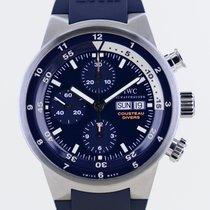 IWC Aquatimer Chronograph Stahl 44mm Blau Keine Ziffern Deutschland, Langenfeld