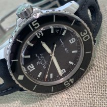 Blancpain Fifty Fathoms Staal Zwart