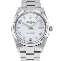 Rolex Oyster Perpetual Date Ocel 34mm Stříbrná