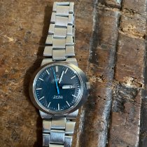 Omega Genève Steel 38mm Silver No numerals
