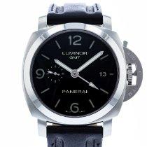 Panerai Luminor 1950 3 Days GMT Automatic PAM 320 Очень хорошее Сталь 44mm Автоподзавод