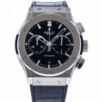 Hublot Classic Fusion Chronograph pre-owned 45mm Black Date