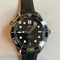 Omega Seamaster Diver 300 M Steel 42mm Black No numerals United States of America, California, Hermosa Beach