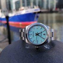 Rolex Oyster Perpetual 31 Aço 31mm Azul Sem números