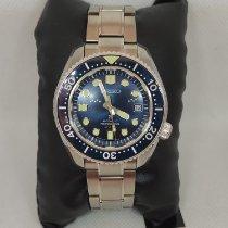 Seiko Marinemaster occasion 42mm Bleu Date Acier