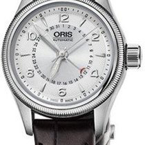 Oris Big Crown Pointer Date Acier 29mm Argent