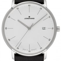 Junghans FORM Steel 38mm White