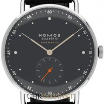 NOMOS 1115 Steel 2020 Metro Neomatik 38.5mm new