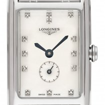Longines DolceVita Steel 20.8mm Mother of pearl