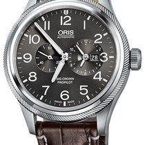 Oris Big Crown ProPilot Worldtimer Acier 44.7mm Gris