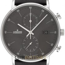 Junghans FORM C Steel 40mm Grey