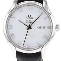 Omega De Ville Hour Vision neu 2020 Automatik Uhr mit Original-Box und Original-Papieren 433.13.41.22.02.001
