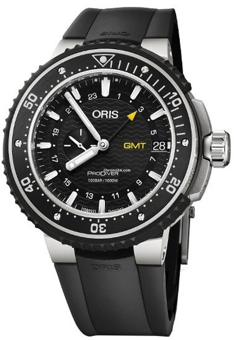Oris ProDiver GMT 01 748 7748 7154-07 4 26 74TEB 2021 new