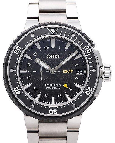Oris ProDiver GMT 01 748 7748 7154-07 8 26 74PEB 2021 new