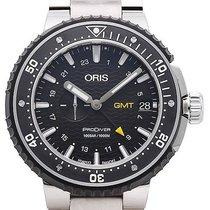 Oris Ceramic Automatic Black 49mm new ProDiver GMT