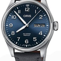 Oris Big Crown ProPilot Day Date Stahl 44mm Blau Deutschland, Schwabach