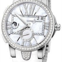 Ulysse Nardin Executive Dual Time Lady Steel 40mm Mother of pearl