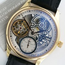 IWC Portugieser Tourbillon Rotgold 43.10mm Transparent