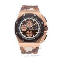 Audemars Piguet Royal Oak Offshore Chronograph 26401RO.OO.A087CA.01 Neuve Or rouge 44mm Remontage automatique