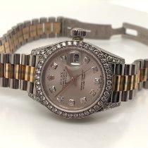 Rolex Gold/Stahl 36mm Grau