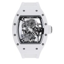 Richard Mille Ceramic 49.9mm Manual winding Rm055 new