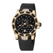 Ulysse Nardin Lady Diver Starry Night Rose gold 40mm Black
