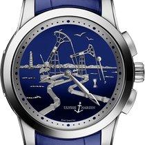 Ulysse Nardin Hourstriker Platinum 43mm Blue