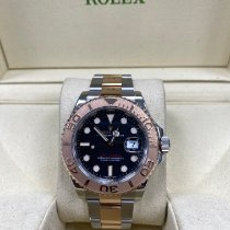 Rolex Yacht-Master 40 Gold/Steel 40mm Black No numerals United Kingdom, Colchester