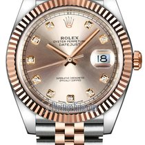 Rolex Rose gold Automatic Pink No numerals 41mm new Datejust II