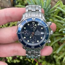 Omega Seamaster Diver 300 M Steel 41.5mm Blue No numerals United States of America, California, Los Angeles