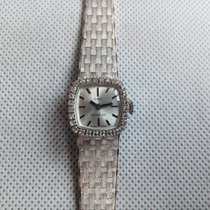 Lanco White gold 18mm Manual winding pre-owned