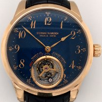 Ulysse Nardin Classic Ulysse Anchor Tourbillon 1786-133 Very good Rose gold 44mm Manual winding