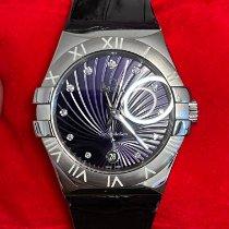 Omega Constellation Quartz Сталь 35mm Фиолетовый Россия, Sochi
