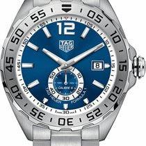 TAG Heuer Formula 1 Calibre 6 Steel 43mm Blue United States of America, New York, Bellmore