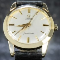 Omega 14704 Very good Yellow gold 34mm Automatic