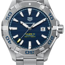 TAG Heuer Aquaracer 300M Steel 43mm Blue No numerals United States of America, New York, Bellmore