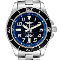 Breitling Superocean 42 Steel 42mm Blue Arabic numerals United States of America, Georgia, Atlanta