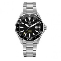 TAG Heuer Aquaracer 300M Steel 43mm Black No numerals United States of America, New York, Bellmore