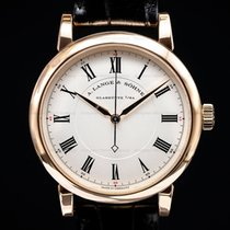 A. Lange & Söhne Richard Lange Rose gold Silver Roman numerals United States of America, Massachusetts, Boston