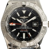 Breitling Avenger II GMT Steel 44mm Black